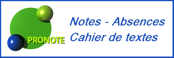 pronote-notes et absences